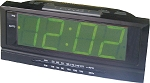DISCONTINUED-Hotel/Motel Alarm Clock Radio - LARGE-JUMBO 1.8
