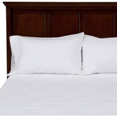 OPULENCE WHITE- KING FLAT SHEETS, 114x115