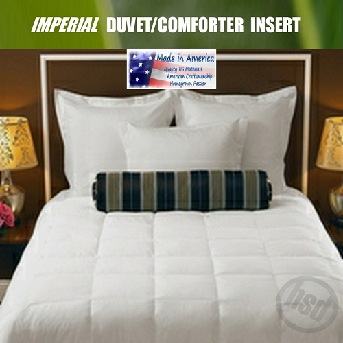 IMPERIAL Luxury, White Down Alternative Hotel Duvet/Comforter, T230 Cotton, Washable, Heavy Fill, KING (low as $49.46)