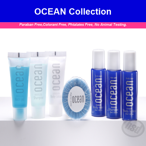 OCEAN Collection, Hotel Shampoo (natural and Organic )