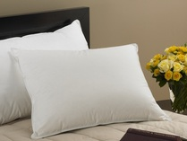 FIRM FILLED - Classic Down Sleeping Pillows, with Knife Edge, 230 Ticking, Standard Size, by Down Inc.