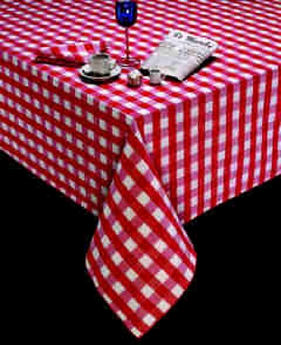 20 x 20 in. Polyester Check Dinner Napkin, Price per dozen