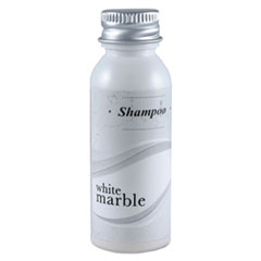 White Marble Shampoo, Light Green-gold, Pleasant Scent, 0.75 Oz. Bottle, 288-carton by Breck