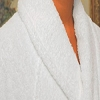 Hotel Luxury Bathrobe with Shawl, Velour 100% Ringspun Cotton, Kimono, 48 x 60
