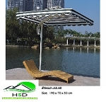 Beach/Pool Chair A8-68: Waterproof Rattan outdoor products, synthetic durable, all-weather/maintenance free.