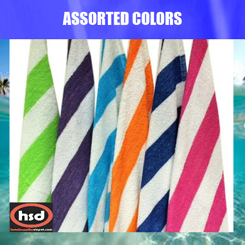 Wholesale Cabana Hotel Pool Beach Towels 32 X 65