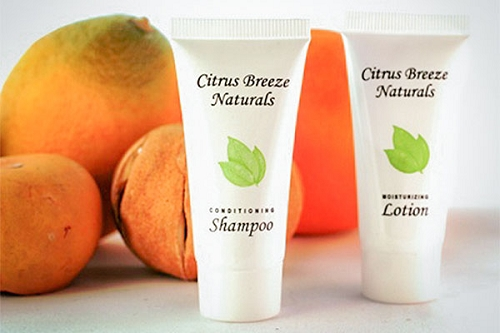 CITRUS BREEZE Naturals Shampoo, .85 oz. Hospitality/Travel Size Tube, Enriched with Organic Aloe (Case of 300) Low as $ 45.56 Cs./$0.151 each)