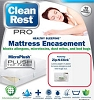 15YR-Warranty-Clean Rest Simple Bed Bug & Allergen Blocking Box Spring Encasement Zip-N-Click, Each