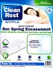 5YR-Warranty-Clean Rest Simple Bed Bug & Allergen MATTRESS Encasement Zip-N-Click, Each