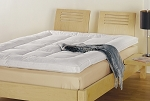 Featherbed 50% Duck Feather/50% Snow White Down, 220 Tc, FULL (low as $284.05) by Down Inc.