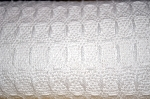 JAIPUR RINGSPUN BIG HONEYCOMB BLANKET, 100% Cotton White, Queen 90