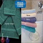 Oxford Bleach Proof, 100% Ring Spun Cotton, Dobby Wash Cloth 12x12