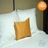 Hotel Self Lined, DECO PILLOW CASES with Zipper,100% Micro Polyester SUEDE, SOLID COLOR, 12x20
