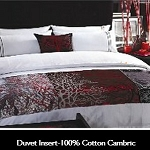 Hotel Resort Duvet Insert 100% Cotton White Cambric, 233 TC, Micro Gel Fiber Fill, Heavier, Twin, 66x90