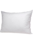 JS Fiber Non Flattening, Fossfill Fossguard™ Hospitality SUPREME Pillow. MEDIUM FIRM FILL, 180 TC, Standard 24oz fill .(Set of 2 Pillows)