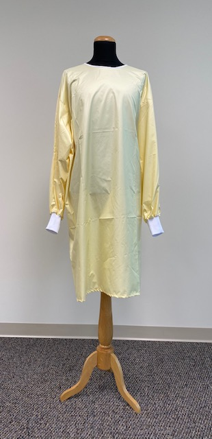 AAMI LEVEL 2 REUSABLE Barrier Isolation/Precaution Gown, Yellow, Laundering of 75 times, starting at  $14.21 ea