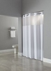 Madison (Dynasty) - 100% Polyester Hookless Shower curtain, 71