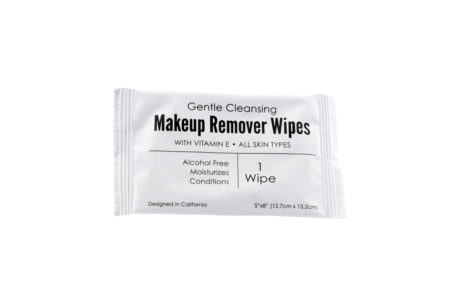 Make-up Remover Wipe/Towelette Wipes, Gentle Cleansing, With Vitamin E, Alcohol Free, (Case of 500)-low as $0.137 each.