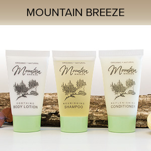 Mountain Breeze Body Lotion, 1 oz. Hospitality/Travel Size Tube, Enriched with Organic Aloe and Honey (Case of 300) starting at $48.98 Cs.