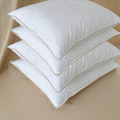 Double Down Around Pillow - Pillow in Pillow, Down Top & Bottom, Tc233 Cotton Cover-Standard 30oz.