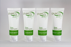 PURE Collection, Green Tea Fragrance Hotel SPA Body Lotion,  25ml/0.85 Fl. Oz. TUBES, Case of 300, (Starting at $68.29 cs /$0.227 each)