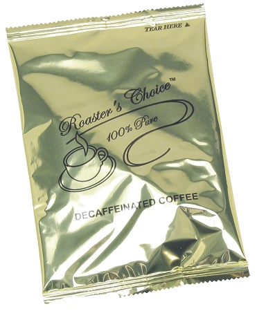 ROASTERS CHOICE-PREMIUM 4-CUP COFFEE FILTER POUCH, DECAF, 200 count.