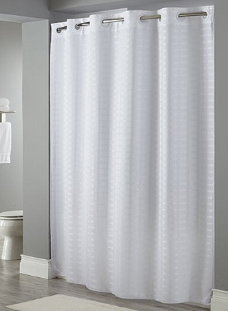HOOKLESS LITCHFIELD 100% Polyester Shower curtain, 71\