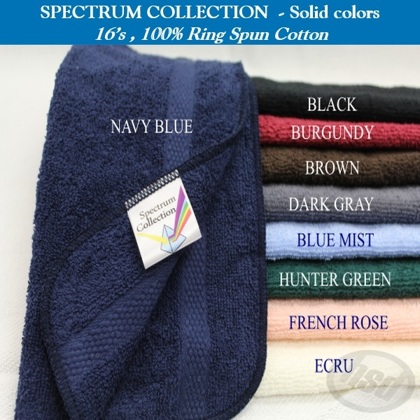 SPECTRUM BATH Towel, 24x48