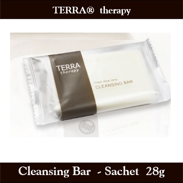 TERRA therapy SPA Collection- Cleansing Bar Soap, 28 g Sachet-Enriched Olive Oil and Soothing Aloe Vera (Case of 500), starting at $67.40 cs