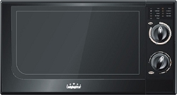 Lodging Star 320008: 0.65 Cu.Ft. Turn Knob Compact Countertop Microwave, color black, Low as $65.72 ea.
