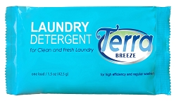Vacation Rentals-Condominium-AirBnB, TERRA BREEZE Laundry Detergent Powder - 1.5 oz Packet (Case of 150)