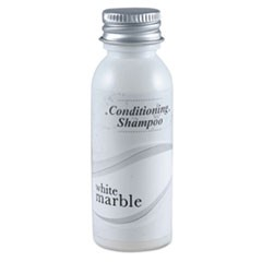 White Marble Conditioning Shampoo, Unscented 0.75 oz Bottle 288/Carton, by Breck