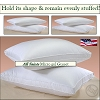 300 TC, HSD-ALL SAINTS-Allergy Shield Hotel Micro Gel Fiber Pillow, Hypo-Allergenic, GUSSET, STANDARD, Starting at $19.95 ea