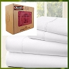 Luxurious 1800 Series: Feels like Certified 100% Premium Organic Cotton Sheet Set, California KING