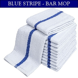 BLUE STRIPE Restaurant Terry Bar-Mop, 16x19