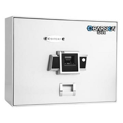 BARSKA OPTICS BIOMETRIC SAFE TOP OPENING, BX-200, WHITE by Barska