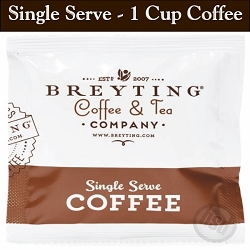 BREYTING Coffee One: PREMIUM 1-CUP COFFEE FILTER POUCH, Regular French Roast 1 Cup Filter Pouch, 200 count. starting at $30.22 case
