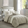 7 Piece Embroidered Luxury Comforter Set Bed in a Bag Bedding QUEEN Size, Home Quality, Starting at $64.80 each