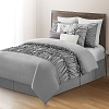 10 Piece Comforter Set Bed in a Bag Bedding QUEEN Size, (GREY) Home Quality, Starting at $83.60 each