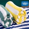 HOTEL Cabana Pool Towel Stripe, 100% Ring Spun Cotton -30x60