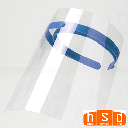 Anti-Fog Visor Face Shield 10.2'' X 12.7'' Optically Clear, Reusable, case of 50, $6.95 each