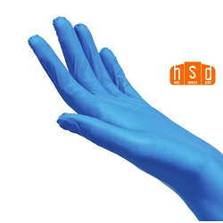 Wholesale Nitrile Powder Free Medical Exam Gloves blue gloves, box of 50pairs/100pcs. Low as $17.85