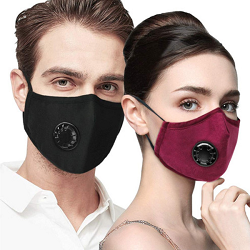Reusable Nylon Filter Mask Breath-ability comfort filters out bacteria, dust, chemicals, particles, pollen and smoke for adults. Low as $9.45