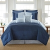 8 Piece Comforter Set Bed in a Bag Bedding QUEEN Size, (BLUE) Home Quality, Starting at $71.25 each
