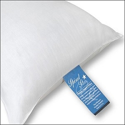 26 oz. STANDARD Size: SPIRAL Star/100% Spiral Crimp- siliconized fiber Fill Pillow, Non Allergenic, Odorless and Resilent, Price Each