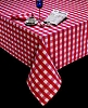 17 x 17 in. Polyester Check Dinner Napkin, Price per dozen