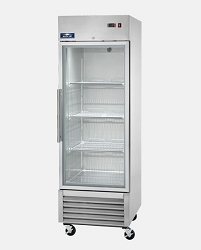 ARCTIC AIR: AGR23-ONE DOOR REACH-IN REFRIGERATOR - GLASS