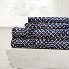 HOME SCALLOPPS- Patterned 4-Piece Sheet Set. From ($20.99 to $28.99 Set)