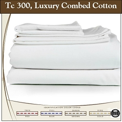 T-300, 100% Combed Cotton, 120 x 125