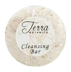 Terra Botanics OATMEAL CLEANSING BAR Soap, 1.25 oz,/35 g Sachet. With Organic Honey And Aloe Vera (Case of 300)